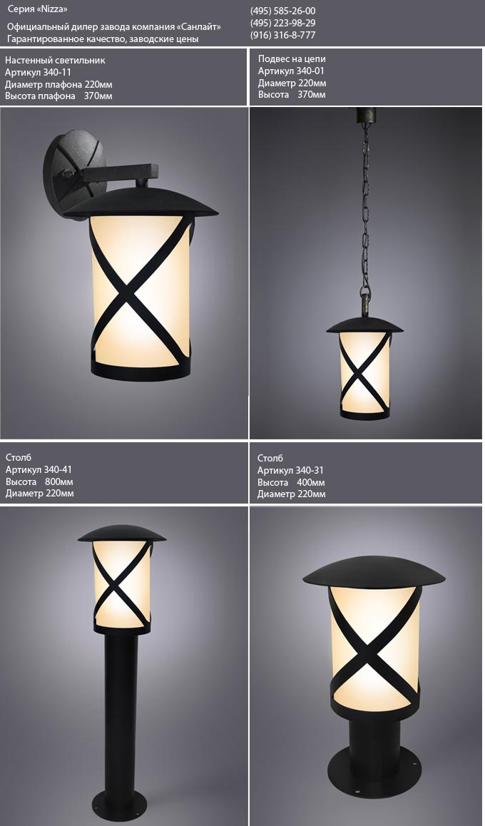 Садовые светильники фото